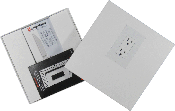 Sample Kit for Smoothline flush wall plate